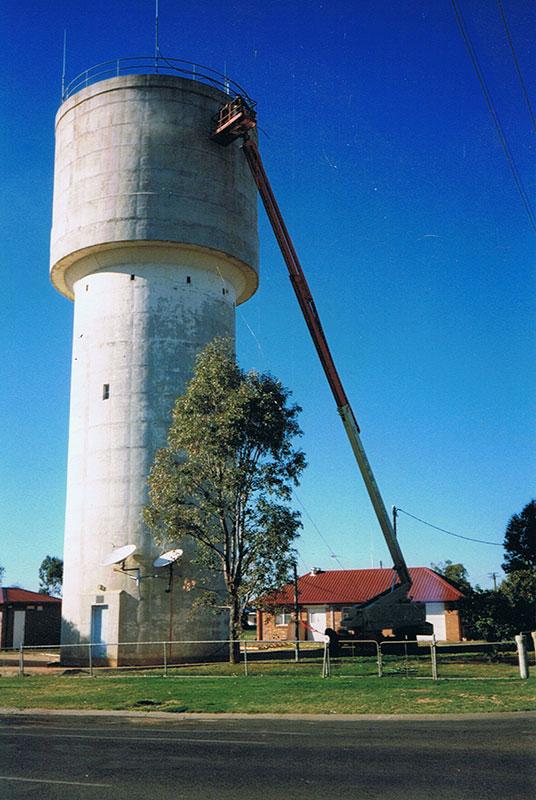 concrete reservoir repairs