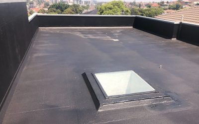 Urgent Rooftop Membrane Spray Application with CIW Remedial
